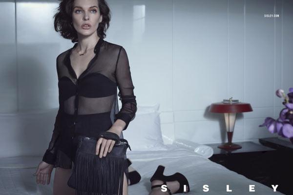 Milla Jovovich en Tyson Ballou voor Sisley SS13 campagne - 3