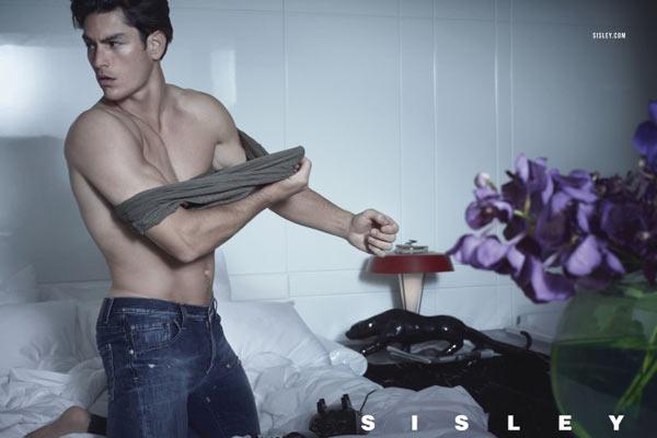 Milla Jovovich en Tyson Ballou voor Sisley SS13 campagne - 4