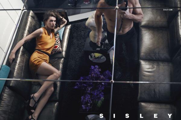 Milla Jovovich en Tyson Ballou voor Sisley SS13 campagne - 5