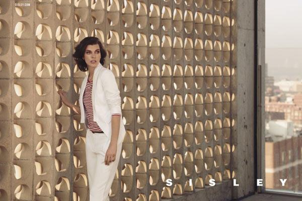 Milla Jovovich en Tyson Ballou voor Sisley SS13 campagne - 6