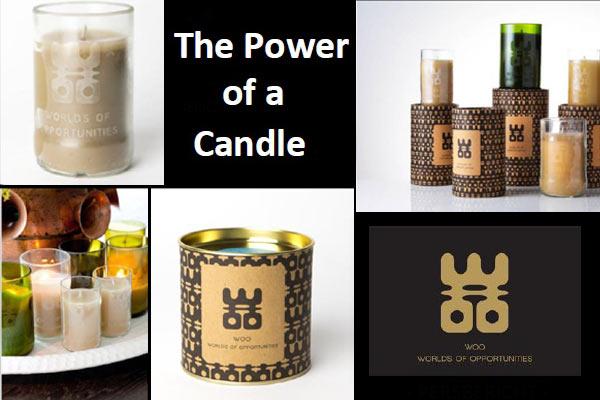 WOO Bottle Candle – Geurkaars met een bijzonder mooi verhaal
