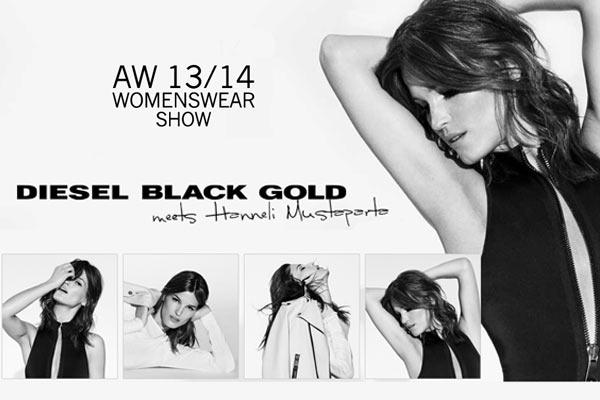 Uitnodiging voor de Modeshow van Diesel Black Gold: Frontrow én Backstage!