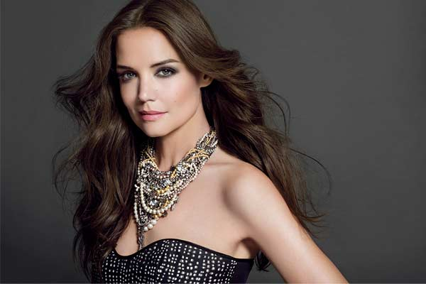 Katie Holmes for Bobbi Brown SS13