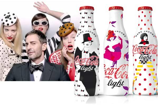 Marc Jacobs x Coca-Cola light limited edition flesjes  + VIDEO