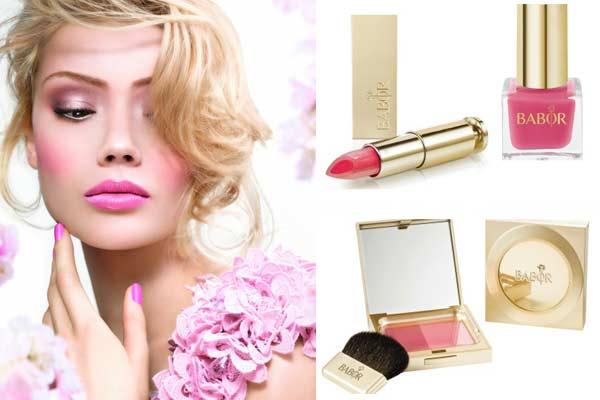 Make-up Trends Lente en Zomer 2013: Babor Floral Beauty Look