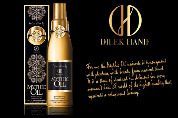 Beauty Icoon in design jasje: Mythic Oil Couture Edition by Dilek Hanif