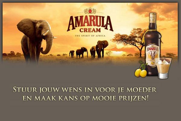 Stuur je liefste Amarula Moederdag Wens in en win een reis naar Zuid-Afrika!