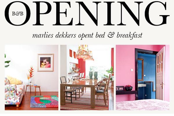 Marlies Dekkers Bed & Breakfast: super-de-luxe logeren in Rotterdam