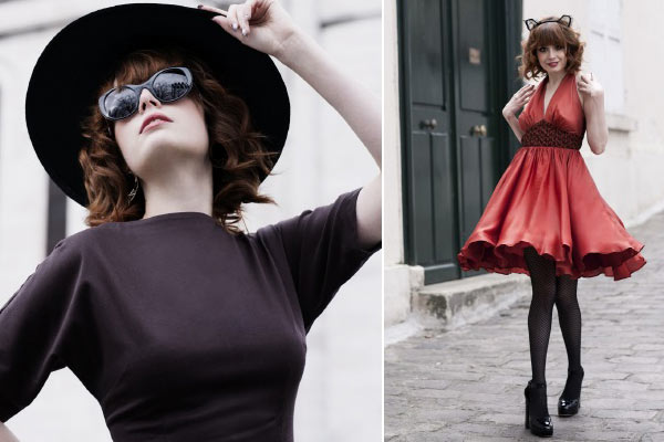 Nieuw Vintage-Inspired Modelabel: Bannou by Faranak - Lookbook 1