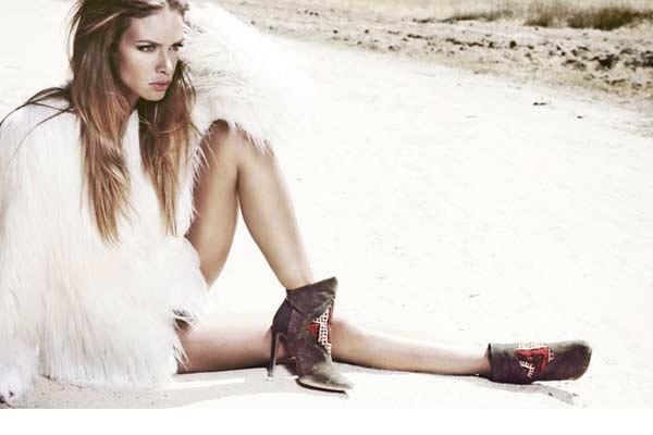 Op de Fashion Wishlist: High Heeled Kelim Boots van HOWSTY!