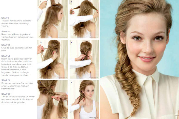 Haartrends Zomer 2013: The Simple Fishtail Braid