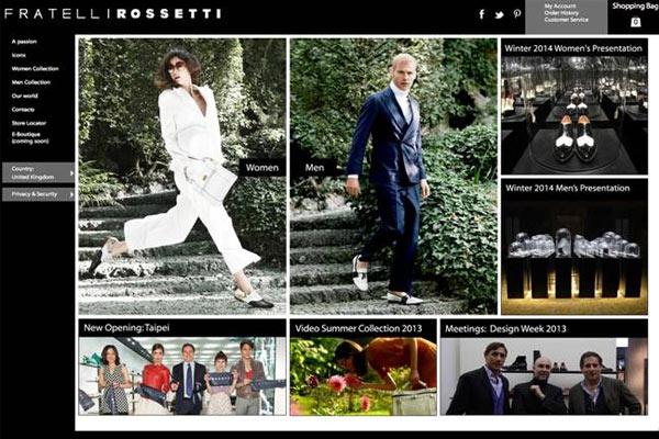 Webshop Tip: Fratelli Rossetti lanceert virtuele boetiek