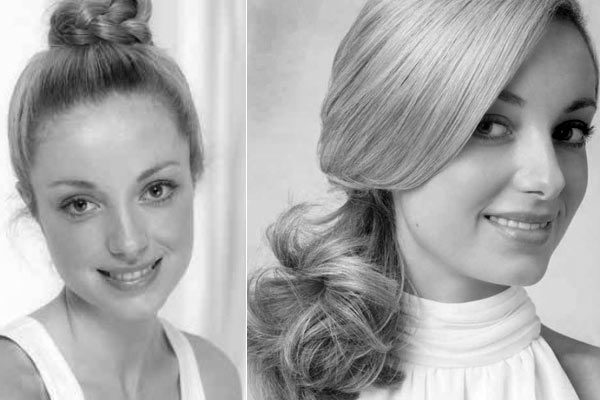 Haartrends Zomer 2013: Two minute Top Knot & The Looped Chignon