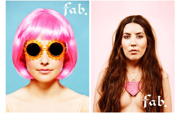 Fab. Girls presenteren sexy kalender - afb1