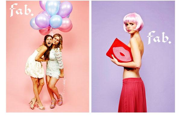 Fab. Girls presenteren sexy kalender - afb2