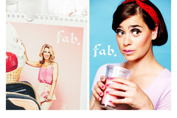 Fab. Girls presenteren sexy kalender - afb3