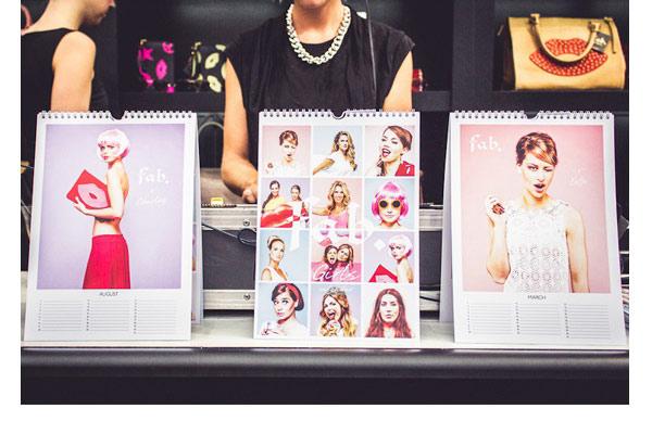 Fab. Girls presenteren sexy kalender - afb5