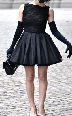 Cocktail outfit LBD