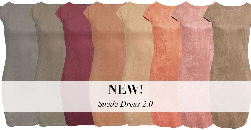 blog header suede dresses