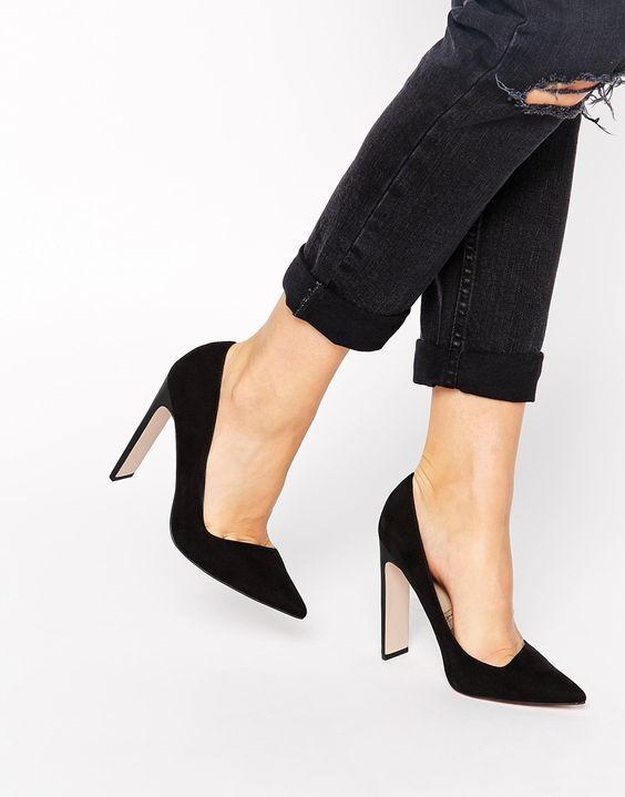 low cut heels