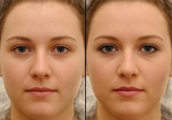 mannen en make-up