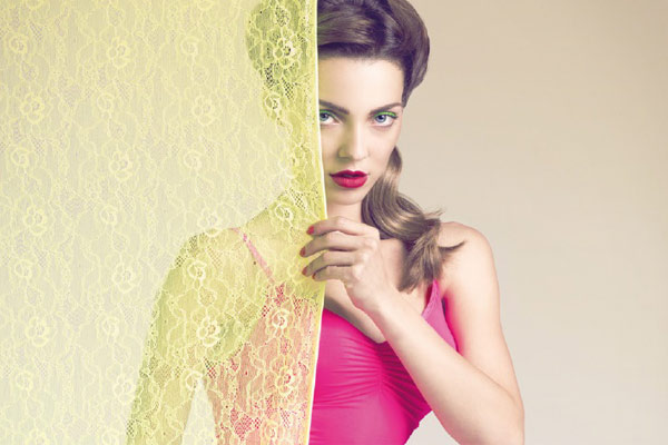 Fierce Lace by Muchachomalo: Pin Up style anno 2013