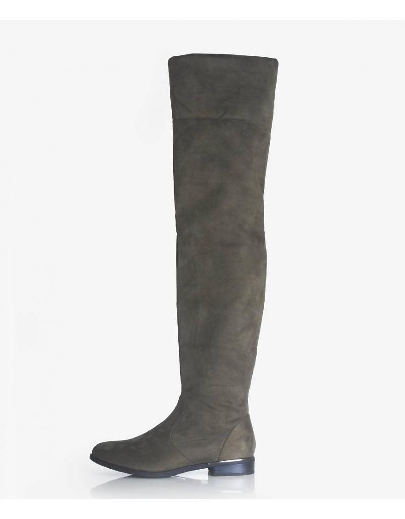 overknee-boots-groen