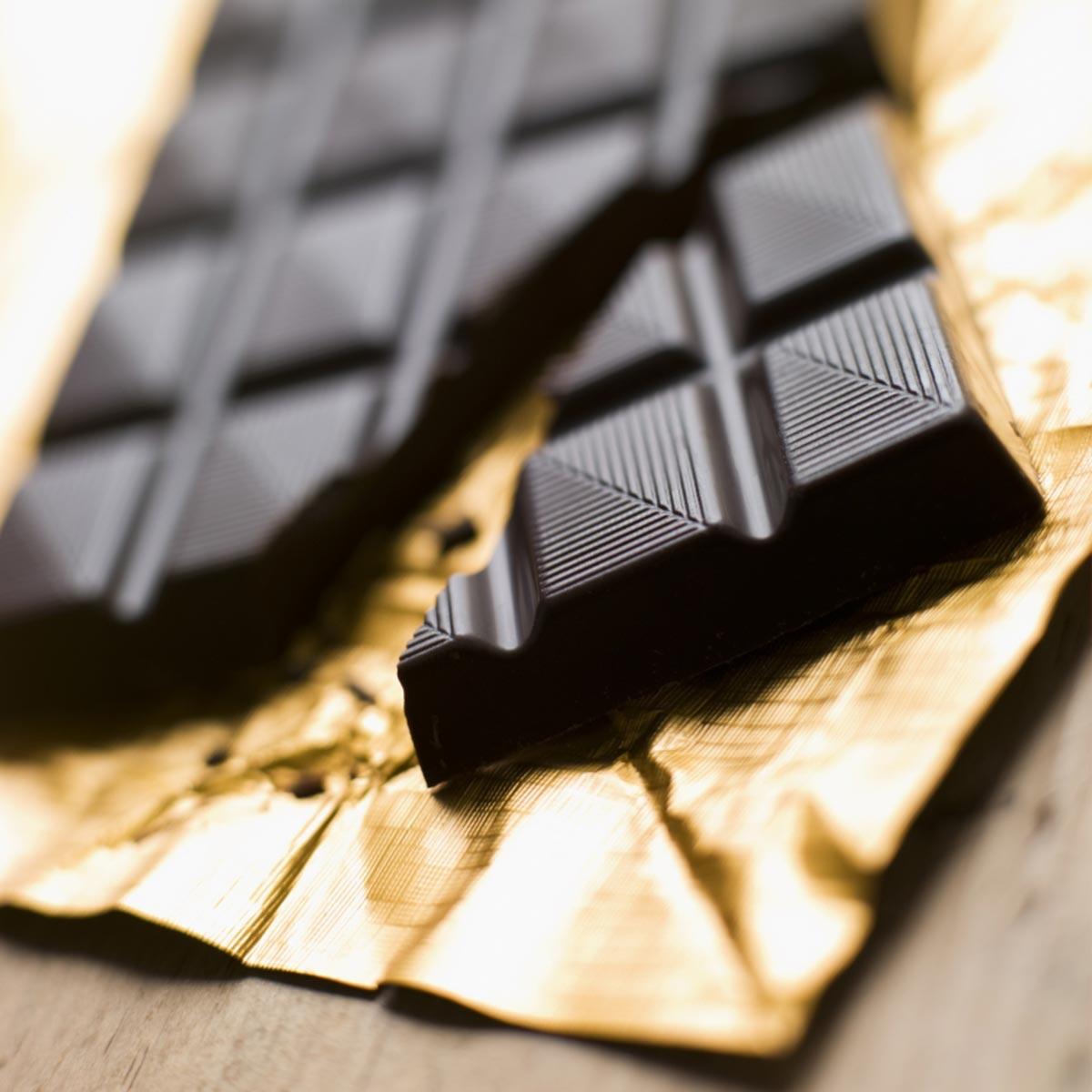 pure chocolade goed voor huid