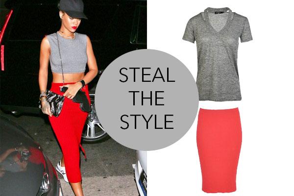 steal the style rihanna